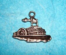 Pendant Steamboat Charm Riverboat Casino Gambling Charm Belle of Louisville Miss