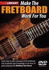 Lick Library MAKE THE FRETBOARD WORK FOR YOU Guitar Scales Lessons Video DVD