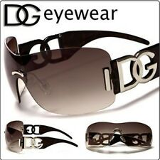 New Womens Ladies Designer Oversized DG Eyewear Shades Brown Fashion Sunglasses