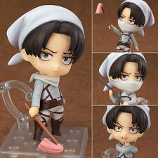 Nendoroid 417 Attack on Titan Rivaille Levi Ackerman Cleaning Ver. Figurine
