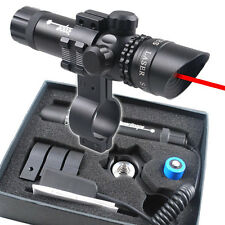Sporting Gun Tactical Red Dot Laser Sight Scope w/ 20mm Mounts Hunting Airsoft