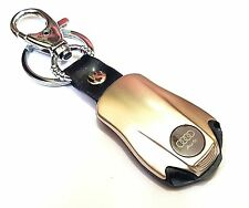 AUDI LOGO CAR KEY CHAIN WITH TORCH IN HEAD LIGHT FULL METAL USE FOR CARS & GIFTS
