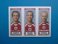 Figurine Calciatori Panini 2010-11 n.507 Marchesan Carteri Dalla Bona Cittadella