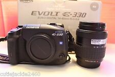 Olympus E-330 7.5 MP dSLR w/ 14-45mm Lens & original box. Shutter count 6.1K