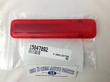 1996-2005 Chevrolet Astro GMC Safari Van RH Front Door WARNING REFLECTOR new OEM