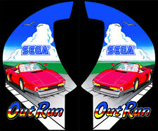 Sega Out Run Sideart Set (2 pc set)- OutRun