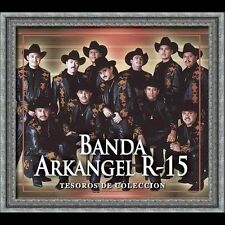 Banda Arkangel R-15 Tesoros De Coleccion CD