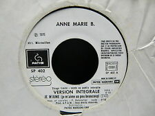 ANNE MARIE B Je m aime ( vesion integrale / version breve ) SP 402 PROMO JUKEBOX