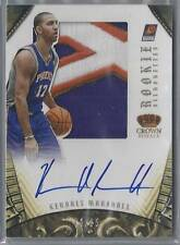 2012-13 PREFERRED SILHOUETTES PRIME KENDALL MARSHALL RC AUTO PATCH 16/25!!