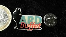 Media radio tv pin badge ARD buffet Chat