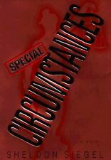Special Circumstances By Sheldon Siegel Used Book Hardback W/Dust Cover