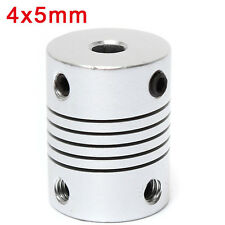 4mm x 5mm Aluminum Flexible Shaft Coupling OD19mm x L25mm CNC Stepper Motor Coup