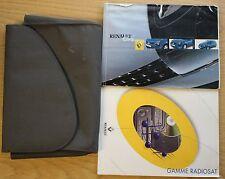 RENAULT CLIO  OWNERS MANUAL HANDBOOK WALLET 2001-2003 PACK 9501