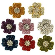 HIGH QUALITY CRYSTAL FLOWER EARRINGS MADE WITH SWAROVSKI ELEMENTS