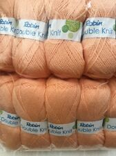 Robin Double kniting yarn  500 grams 5x100 balls beautiful wool Melba