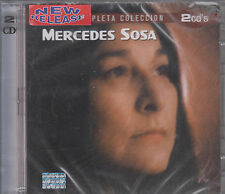CD - Mercedes Sosa NEW La Mas Completa Coleccion 2 CD - FAST SHIPPING !
