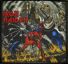"IRON MAIDEN AUFNÄHER / PATCH ""14"" NUMBER OF THE BEAST"
