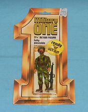 vintage Porto Play MILITARY ONE TERRORIST action figure MOC