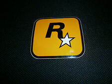 Rockstar Games-GTA V 5-adhesivo-sticker-logo - decal-Gamescom