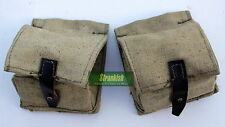 2 x RUSSIA RUSSIAN ARMY WEBBING GRENADE AMMO POUCH POUCHES