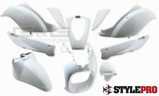 Fairing Kit Fairing parts in white for Sym Mio 50 to BJ. 09