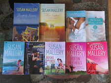 SUSAN MALLERY LOT OF 9 ROMANCE PAPERBACKS Contemporary Fool's Gold Seductive One