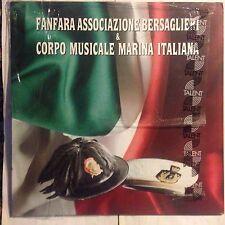 FANFARA ASSOCIAZIONE BERSAGLIERI  & CORPO MUSICALE MARINA ITALIANA • Vinile Lp •