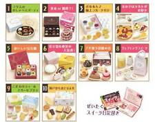 Re-ment Elegant Sweets Gourmet Sweets Full Set 10 for Loving Family Dollhouse