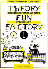 Theory Fun Factory: Music Theory, Puzzles and Games: v. 1 by Katie Elliott...