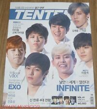 TENTEN 10TEN INFINITE EXO VIXX LEE JONG SUK IU JIYEON MAGAZINE 2014 JUNE NEW