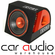 "Borde 10 ""Active 750 Watt Subwoofer Sub Bass Caja Caja & Free Amp Kit edb10a"