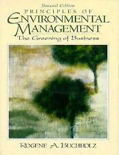 Principles of Environmental Management: The Greening of Business (2nd Edition)