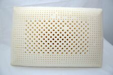 latex pillow 100% natural latex & cotton inner stiched cover 60*40*12.5 cm firm