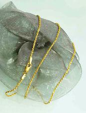 50 cm  KORDELKETTE GOLDKETTE KETTE HALSKETTE 750 GOLD 18 KT GOLD   NEU