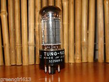 Very Strong Vintage Tung Sol 6V6GT Vacuum Tube 4300umhos 43mA