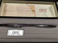 CROSS CENTURY  CHROME BALLPOINT PEN With Gift Box And Guarantee MADE IN USA