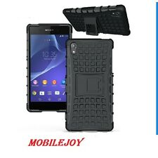 Hybrid Armor Stand SHOCKPROOF Back Cover Case for Sony Xperia Z2 / L50W
