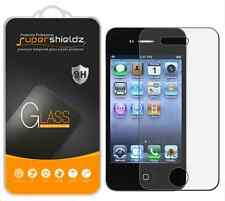 SuperShieldz High Quality Tempered Glass Film Screen Protector For iPhone 4 4S