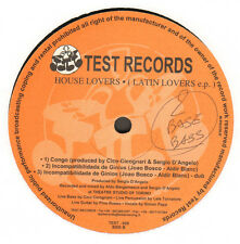 HOUSE LOVERS - Latin Lovers EP - Test