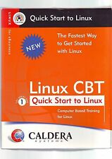 LINUX CBT: QUICK START TO LINUX - OPENLINUX eDESKTOP 2.4 OPERATING SYSTEM - VGC