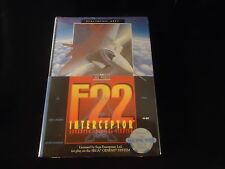 F22 Interceptor (Sega Genesis, 1991) **BRAND NEW** Sealed! F 22
