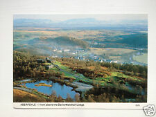 Aberfoyle - from above the David Marshall Lodge