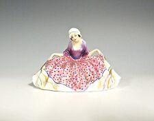 """Rare Royal Doulton Miniature - M23 Polly Peachum - 2"""" High (#637)"""