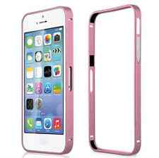 Aluminum Metal Bumper Frame Hard Glossy Case Cover For iPhone 4/4S 5/5S