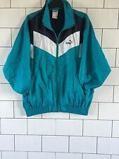 VINTAGE RETRO OLD SCHOOL FESTIVAL 80'S PUMA SHELL SUIT JACKET WINDBREAKER #35