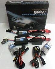 Race Sport H4-8K-SLIM 8000K HID Conversion Kit w/ Single Beam Bulbs & Slim Bal