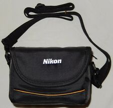 Nikon Coolpix Camera Fabric Case in Black for Coolpix P90 P100 P500 P510 NEW