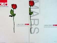 30 SECONDS TO MARS A Beautiful Lie PROMO TwoSide Poster JARED LETO The Kill RARE