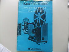 Instructions proj BELL & HOWELL 1692 1693 1694 16951698 UK French Dutch Spanish