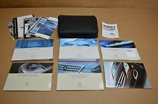 06-09 W251 MERCEDES R320 R350 R500 OWNERS MANUAL NAVIGATION MANUAL WITH CASE
